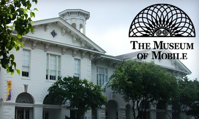 Museum of Mobile - Central Business District: $12 for Individual Membership ($25 Value) or $17 for Family Membership ($35 Value) to The Museum of Mobile