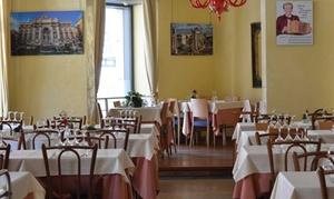 Vacanza Romana: Menu romano con calice di vino per 2 o 4 persone da Vacanza Romana, in Piazza Sant'Eustachio (sconto fino a 75%)