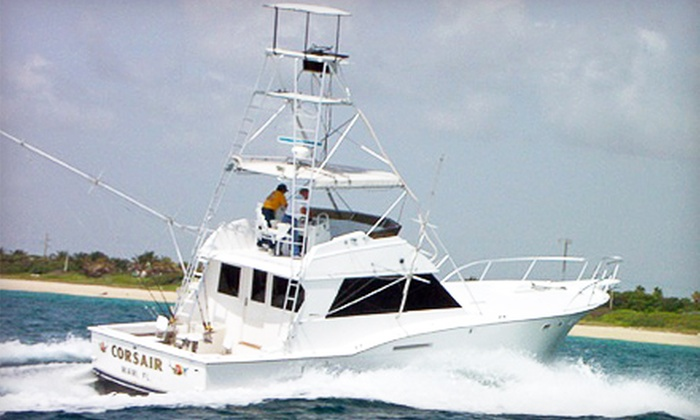 Corsair Sport Fishing - Downtown Miami: $79 for a Four-Hour Deep-Sea Fishing Trip from Corsair Sport Fishing in Miami ($199 Value)