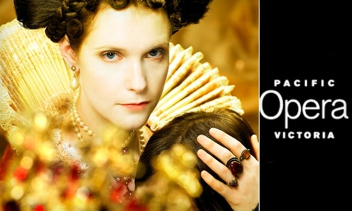 "Pacific Opera Victoria - Downtown: $45 for a C-Section Ticket to ""Rodelinda"" by Pacific Opera Victoria ($92 Value). Three Dates Available."