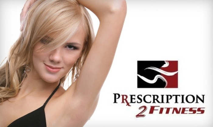 "Prescription 2 Fitness - Vestavia Hills: $99 for Three Laser Hair-Removal Sessions or 4""x4"" Tattoo Removal at Prescription 2 Fitness"