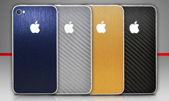 iCoverSkin: iPhone 4 or 4S Cover or an iPad Cover from iCoverSkin (Up to 67% Off)