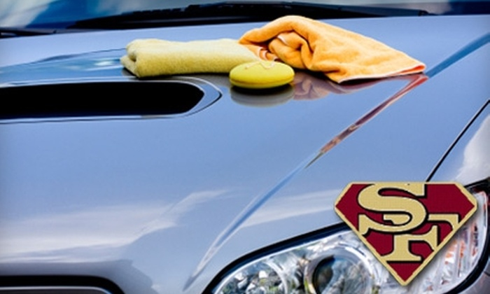 Super Fast Car Wash - El Paso: Mobile Washing and Detailing Services from Super Fast Car Wash (Up to $80 Value). Choose from Three Options.