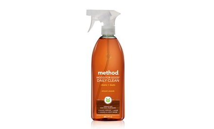 Method Wood for Good Daily Cleanser in Almond; 8-Pack of 28 fl. oz. Bottles + 5% Back in Groupon Bucks.