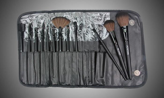 12-Piece Pro Makeup Brush Set