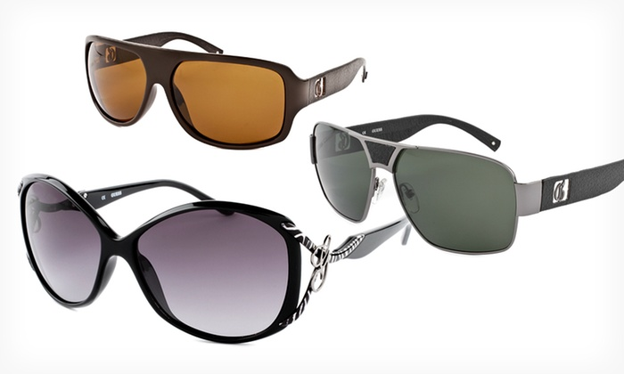 Guess Men's or Women's Sunglasses: $29.99 for Guess Men's or Women's Sunglasses ($85 List Price). 13 Styles Available. Free Shipping and Free Returns.