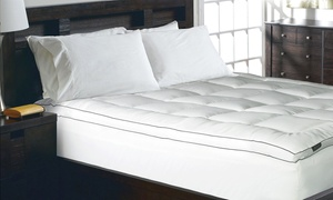 Elle 1,200TC Cotton-Rich Mattress Pad