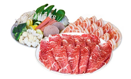 Japanese Cuisine at Happy Shabu Shabu (40% Off). Two Options Available.