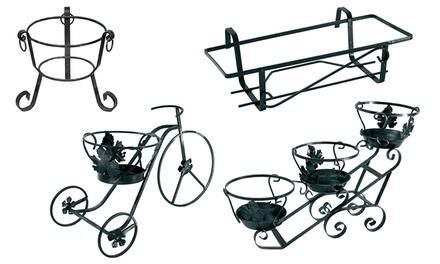 Portavasi in ferro battuto groupon goods - Porta vasi in ferro battuto ...