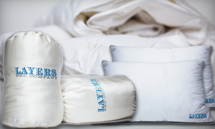 Layers Bed Company - Multiple Locations: $195 for $599 Toward a Mattress or Mattress Set at Layers Bed Company