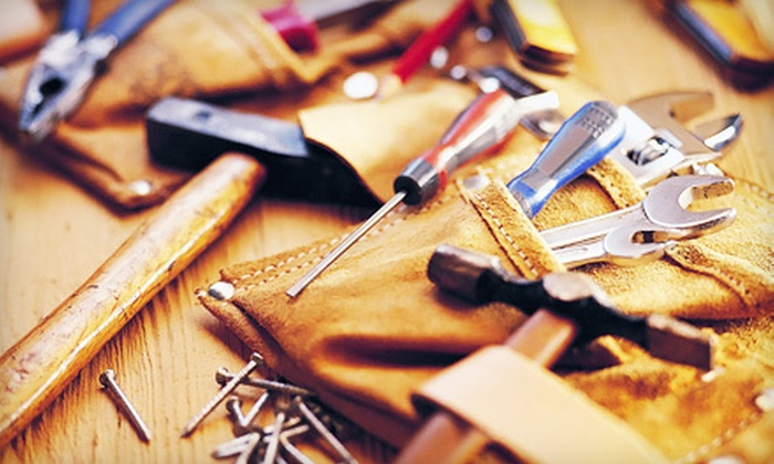 Handyman Division - Tulsa: One or Two Hours of Handyman Services from Handyman Division (Up to 71% Off)