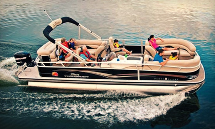 Bay Area Party Boats LLC - Livermore-Pleasanton: Nine-Hour Weekend or Weekday Pontoon-Boat Rental for Up to 12 at Bay Area Party Boats LLC (51% Off)