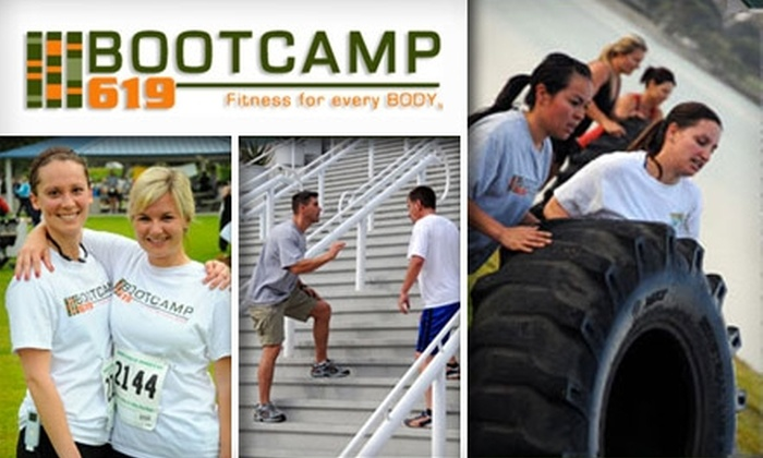 Bootcamp 619 - Morena: $40 for Five Boot-Camp Sessions at Bootcamp 619 ($275 Value)