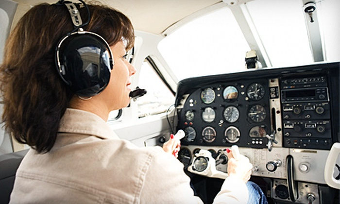 A.T.C. Flight Training Center - Fort Washington: $4,799 for 50-Hour Private-Pilot's-License Training at A.T.C. Flight Training Center ($6,900 Value)
