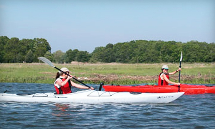 Indian River Marina - Clinton: $36 for Two Four-Hour Kayak Rentals at Indian River Marina in Clinton ($72 Value)