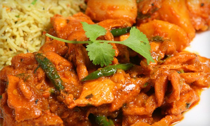 New India Restaurant - The Gables: $10 for $20 Worth of Indian Cuisine at New India Restaurant