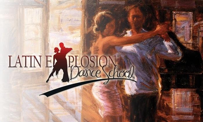 Latin Explosion Dance School - Union Park: $10 for Two Group Dance Classes at Latin Explosion Dance School ($20 Value)