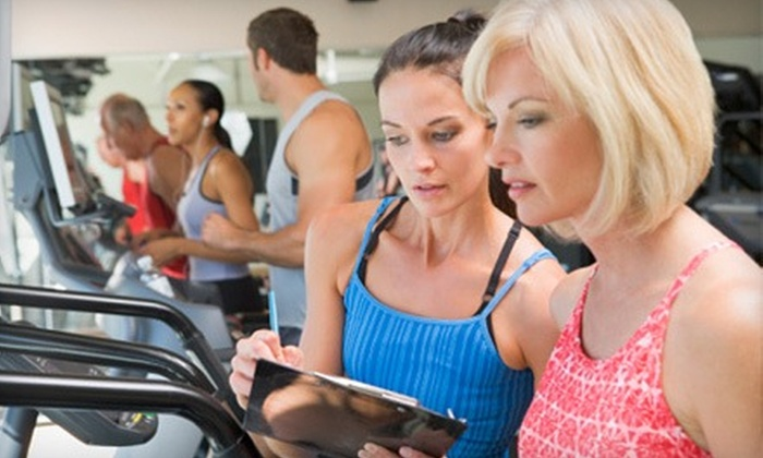 The Fit In You - White Bear Lake: $99 for Five Fitness Training Sessions for Women from Emmy Singer at The Fit in You in White Bear Lake ($312.50 Value)