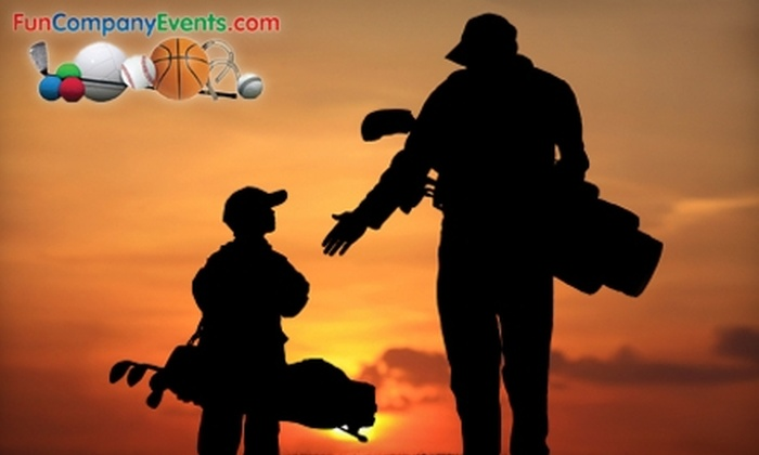 Dulles Golf Center & Sports Park - Steeplechase: $32 for Family Fun Day Package at Dulles Golf Center & Sports Park (Up to $78 Value)