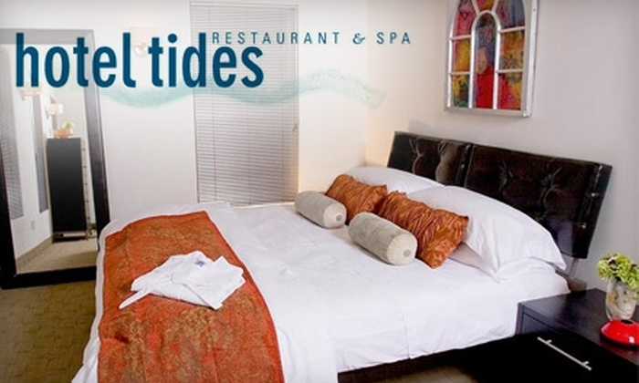 Hotel Tides - Central Jersey: $100 for a Three-Course Prix Fixe Dinner for Two and a One-Night Stay at Hotel Tides in Asbury Park (Up to $220 Value)