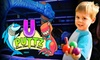U puttz - Weston Shops: $8 for Two General Admission Passes to U-Puttz Black Light Miniature Golf (Up to $16.07 Value)