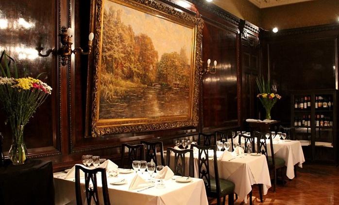 Desde $699 por almuerzo o cena para dos o cuatro con menú gourmet de 3 pasos en Palacio Balcarce