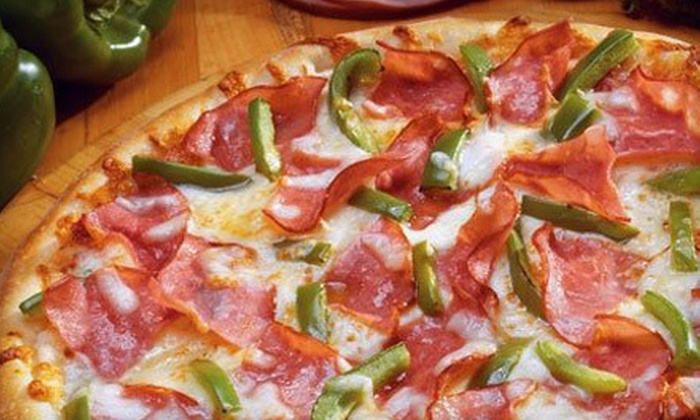 Marco's Pizza - New Chauncey: $10 for a Large One-Topping Pizza, CheezyBread, and CinnaSquares at Marco's Pizza in West Lafayette ($19.48 Value)