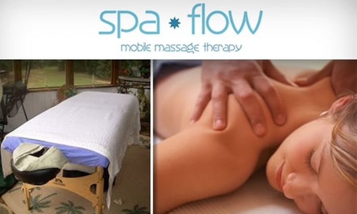 Spa Flow - Atlanta: $45 for an Hour-Long Mobile Massage From Spa Flow