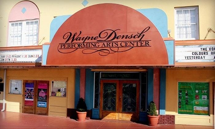 "Wayne Densch Performing Arts Center - Sanford: One Ticket to ""Guys and Dolls"" at Wayne Densch Performing Arts Center in Sanford. Two Showtimes Available."