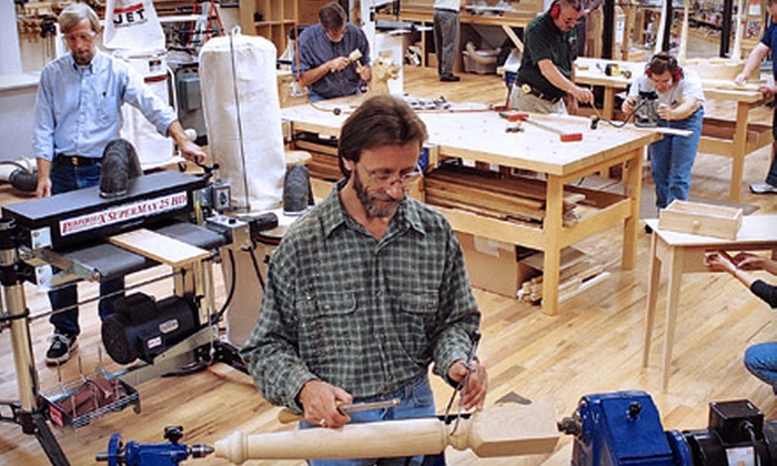 Woodcraft - Bayview: $59 for a Basic Woodworking Class at Woodcraft in Clearwater ($119 Value). Four Classes Available.