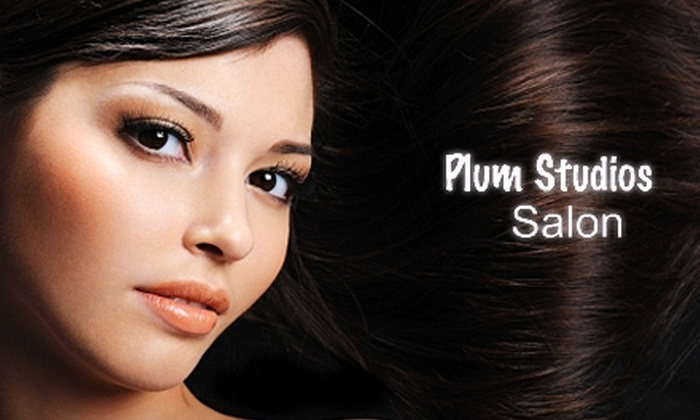 Plum Studios Salon - Downtown: $50 for $100 Worth of Services at Plum Studios Salon in Burlingame
