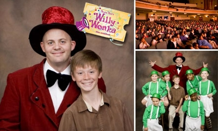 """Community Theatre of Greensboro - Greensboro: Ticket to Community Theatre of Greensboro/Guilford County Schools' Production of """"Willy Wonka The Musical"""" (Up to $12 Value). Two Ticket Options Available."""