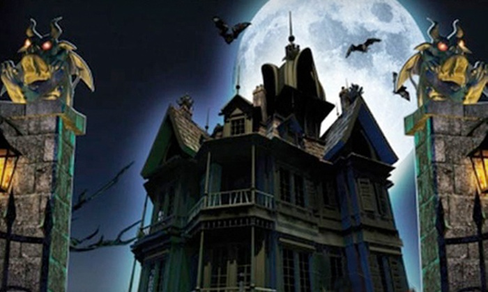 RI Haunted House - Downtown Providence: $10 for a Haunted-House Outing and Game Play at RI Haunted House in Dave & Buster's (Up to $20 Value)