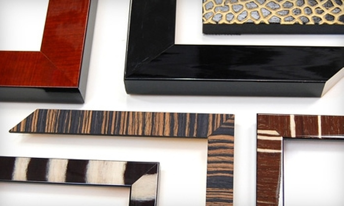 The Studio Shop - Multiple Locations: $45 for $110 Worth of Custom Framing at The Studio Shop in San Mateo or Burlingame