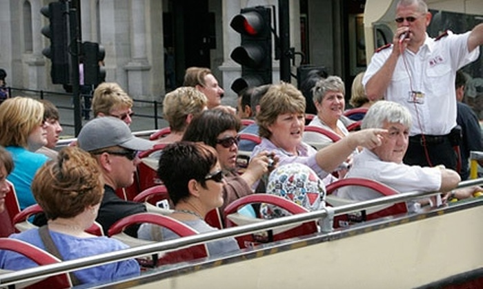 The Big Bus Company - Center City East: $13 for a 90-Minute Sightseeing Tour from The Big Bus Company ($27 Value)