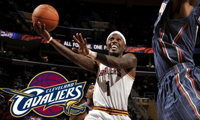 Cleveland Cavaliers - Downtown: Tickets to Cleveland Cavaliers vs. Nets or 76ers Game Plus Souvenir Visor. Choose from Two Games and Multiple Seating Options.