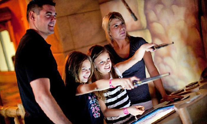 Fun City - West Nyack: Family-Fun Outing with MagiQuest, Rides, and Attractions for Two, Four, or Six at Fun City in West Nyack (Up to 74% Off)