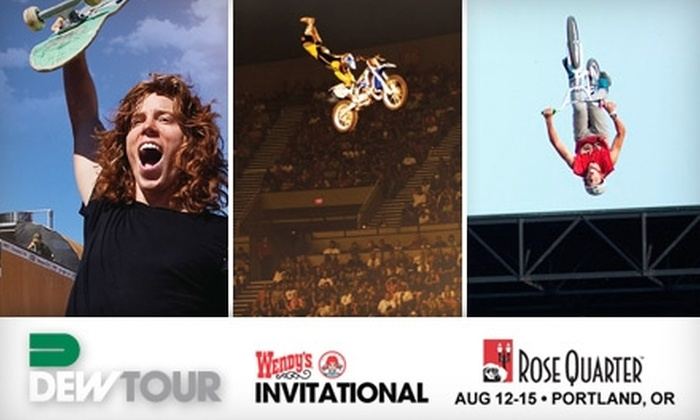 Dew Tour's Wendy's Invitational - Lloyd District: Ticket to Dew Tour's Wendy's Invitational, Featuring Skateboarding, BMX, FMX, and Neon Trees and Paper Tongues Live. Choose from Three Dates and Two Ticket Options.