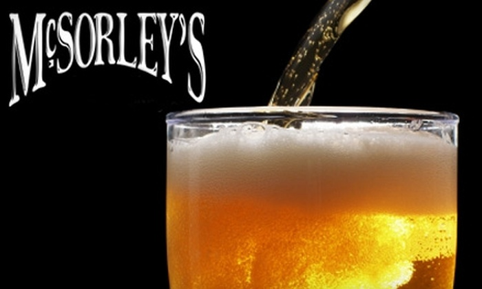 McSorley's - Central Beach: $10 for $20 Worth of Drinks at McSorley's