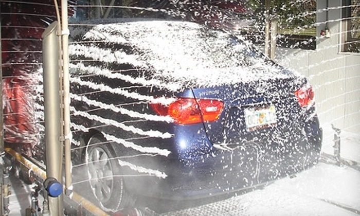 Super-Suds Express - Multiple Locations: $6 for a Works Wash at Super-Suds Express ($12 Value). Three Locations Available.