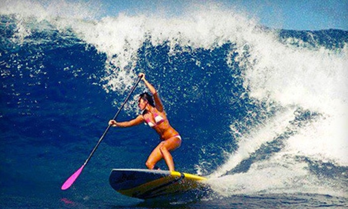 Fort Lauderdale Stand Up Paddle - Central Beach: One- or Two-Hour Standup-Paddleboarding Lesson or Paddleboard Tour from Fort Lauderdale Stand Up Paddle (Up to 66% Off)