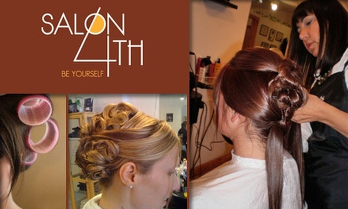 Salon on 4th - Queen Village/ Pennsport: $25 for $50 Worth of Indulgent Services at Salon on 4th