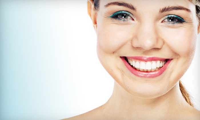 Grand River Family Dentistry - Farmington: Dental Exam with X-Rays and Cleaning or a Take-Home Whitening Kit from Grand River Family Dentistry (Up to 84% Off)