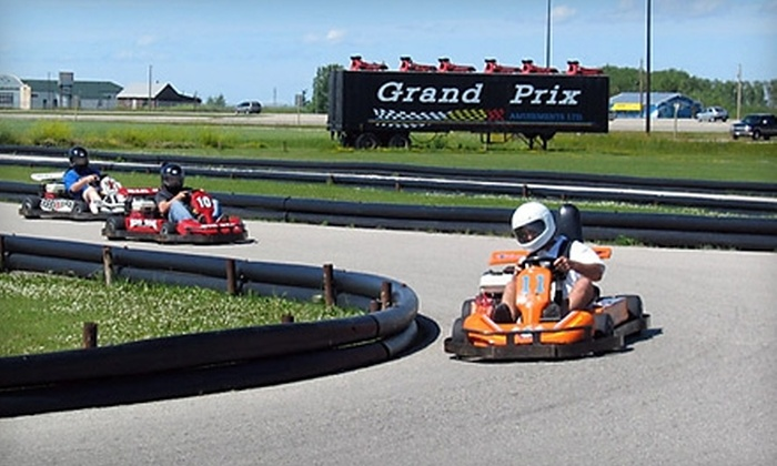 Grand Prix Amusements - Winnipeg: $10 for $20 Worth of Games and Rides at Grand Prix Amusements