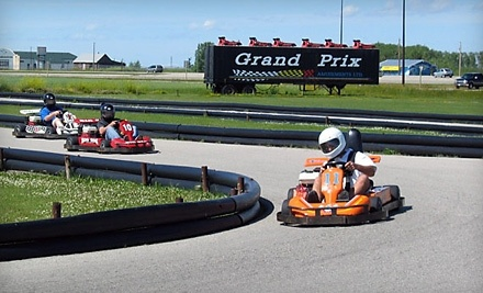 $20 Groupon to Grand Prix Amusements - Grand Prix Amusements in Winnipeg