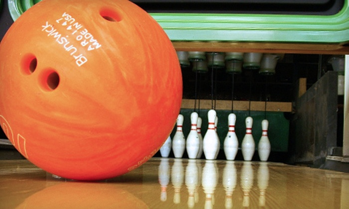 Strike and Spare - Multiple Locations: Bowling Night for Four or One All-Access Circus World Wristband at Strike and Spare
