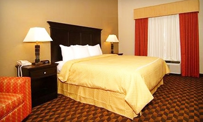 Comfort Inn & Suites - Clinton: $79 for a One-Night Stay in King Jacuzzi Suite at Comfort Inn & Suites in Clinton