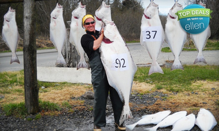 Discover Alaskan Adventures - Ninilchik: $285 for a Halibut Fishing Charter for Two at Discover Alaskan Adventures ($570 Value)