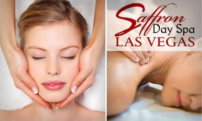 Saffron Day Spa - Spring Valley: $49 for a 30-Minute Swedish Massage and 30-Minute Purifying Facial at Saffron Day Spa