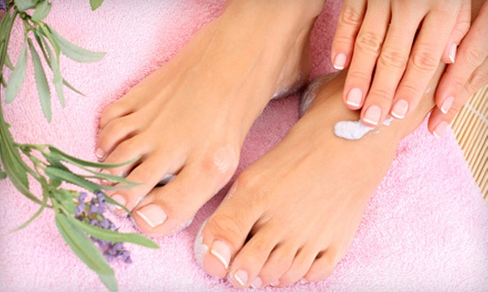 A New You Salon and Spa - River Road: Full-Face Wax or Manicure and Pedicure at A New You Salon and Spa (Up to 64% Off)